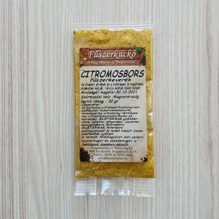 Citromos bors őrölt fűszerkeverék 30 g
