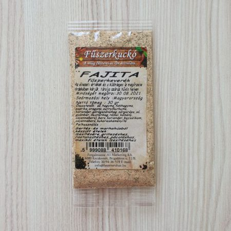 Fajita fűszerkeverék 30g