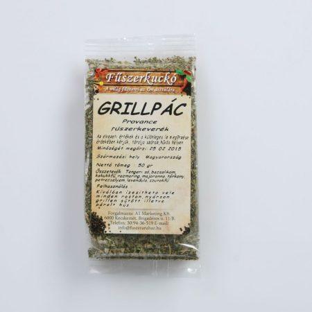 Grillpác Provance-i fűszerkeverekkel