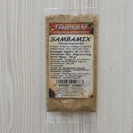 Sambamix fűszerkeverék 30g