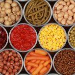 Zöldségek, konzervek