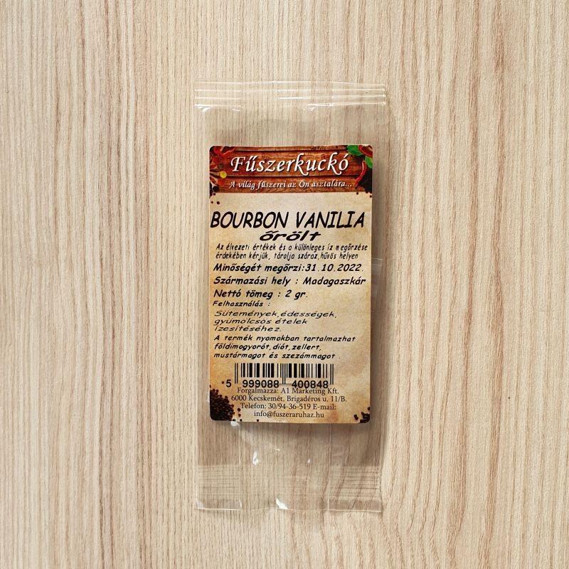 Bourbon vanilia, őrölt 2 g
