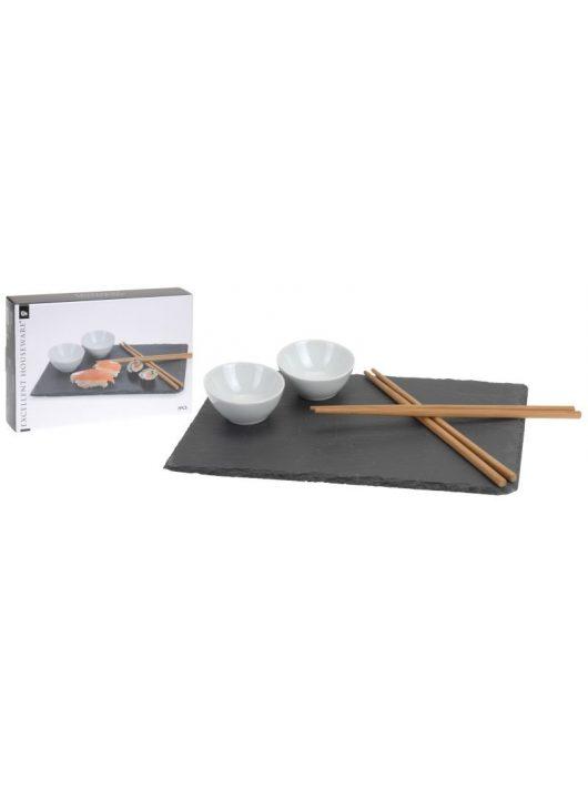 Sushi kínáló 7 darabos szett