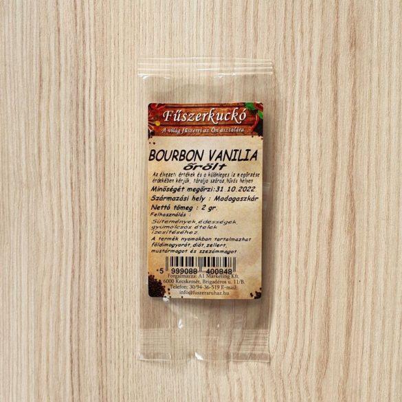 Bourbon vanília őrölt