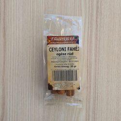 Ceyloni egész fahéjrúd