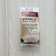 Naga Jolokia chili, szárított 3 db
