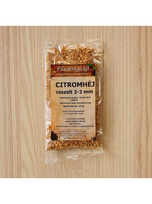 Citromhéj reszelt, 2-3 mm-es, 30 g