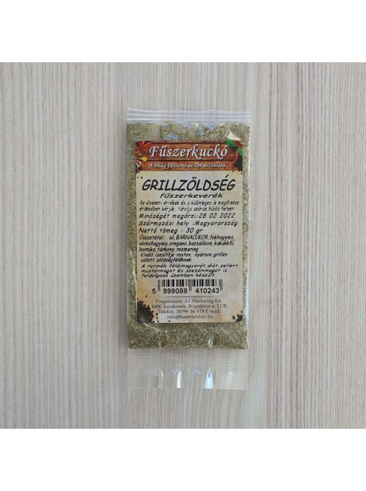 Grillzöldség fűszerkeverék