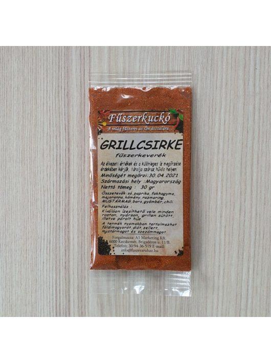 Grillcsirke fűszerkeverék