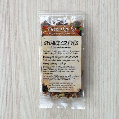 Gyümölcsleves fűszerkeverék 30 g