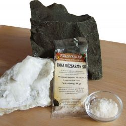 Inka rózsaszín só
