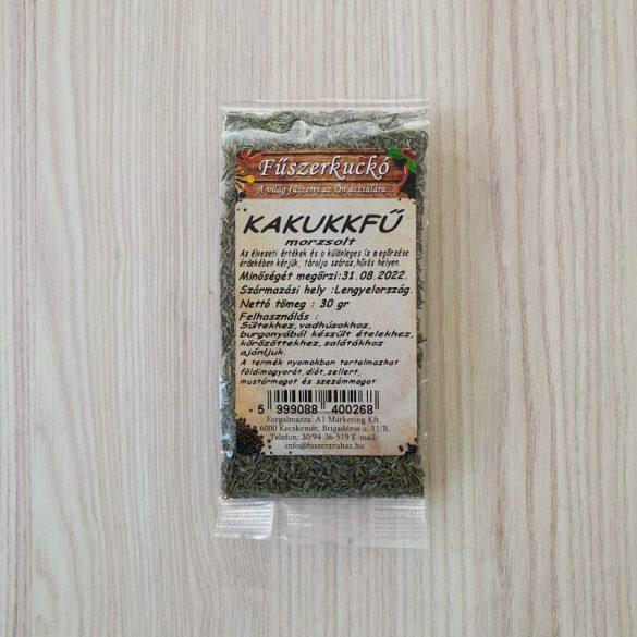 Kakukkfű morzsolt zöldfűszer 30g