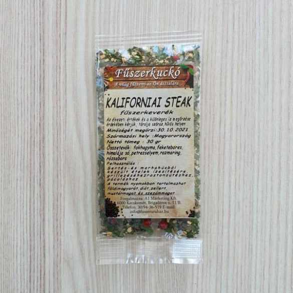 Kaliforniai steak fűszerkeverék