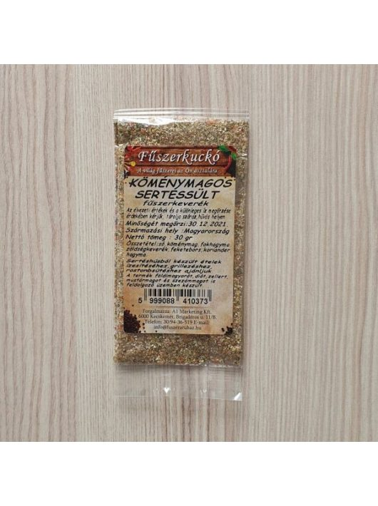 Köménymagos sertéssült fűszerkeverék