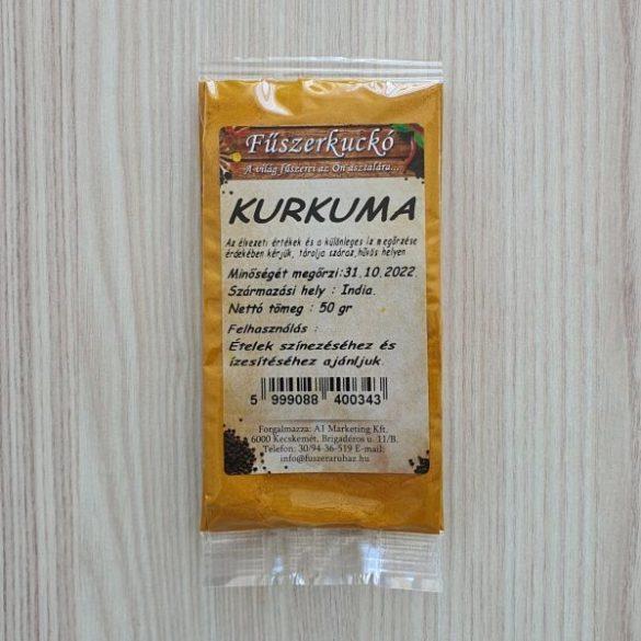 Kurkuma őrölt fűszer 50g