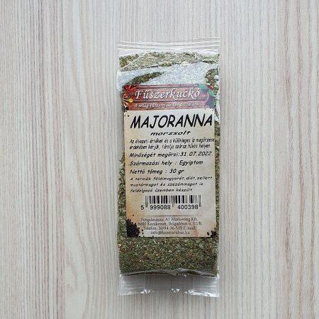 Majoranna zöldfűszer, morzsolt 30g
