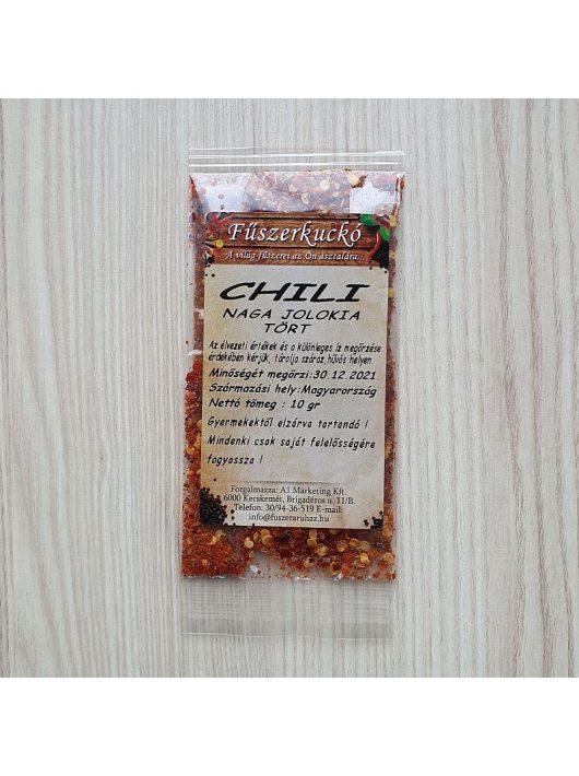 Naga Jolokia tört chili, 10 g