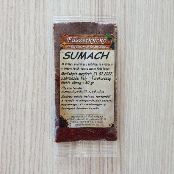 Sumach őrölt fűszer