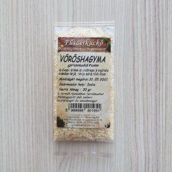 Vöröshagyma por fűszer
