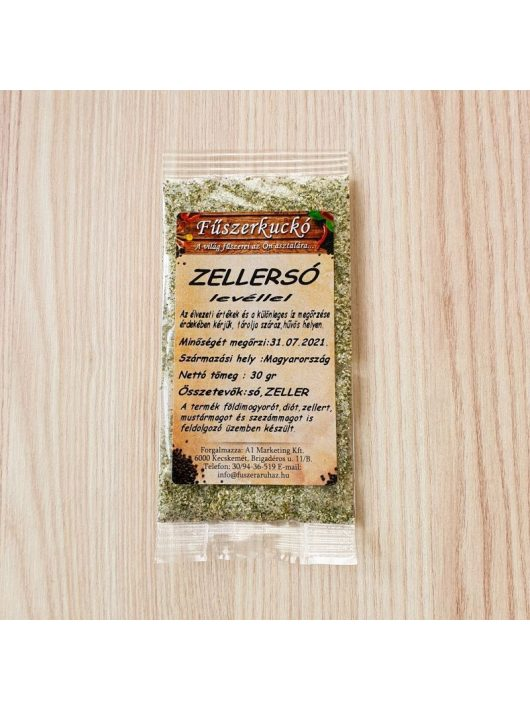 Zellersó levéllel fűszerkeverék