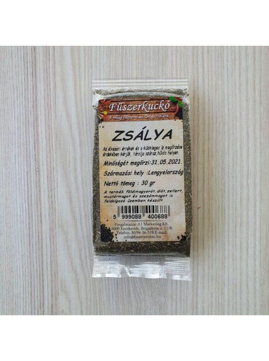Zsálya morzsolt zöldfűszer 30 gr