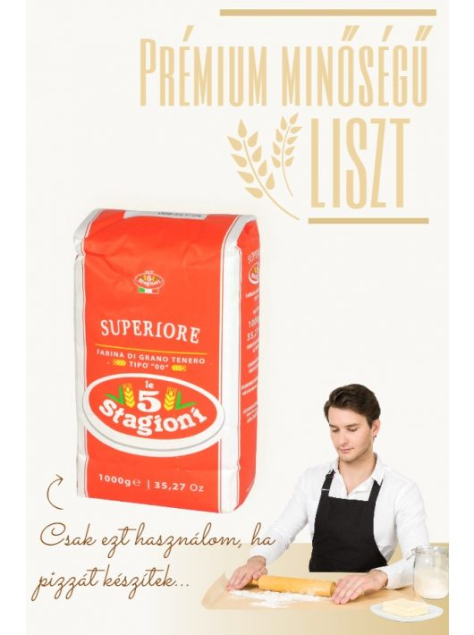 Eredeti olasz pizzaliszt Superiore