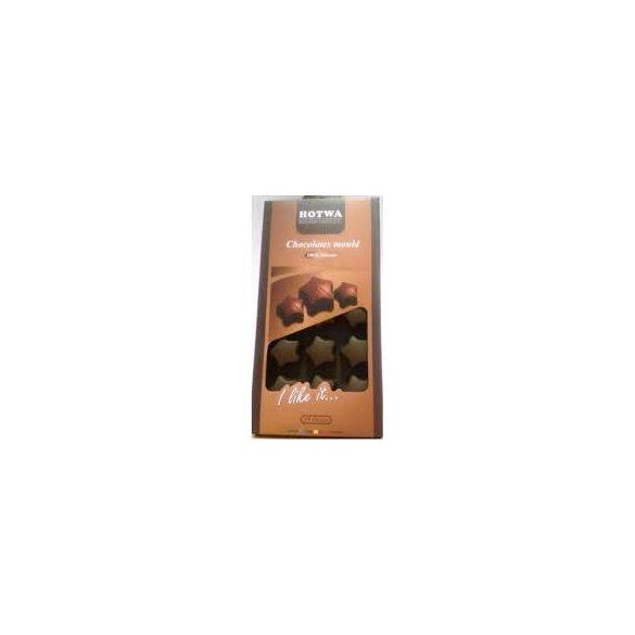 Szilikonos csokiforma csillag alakú 21*0,5 cm