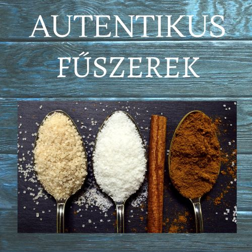 Autentikus fűszerek, só és bors keverékek