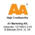 A Fűszeráruház -A1 Marketing Kft Bisnode minősítése