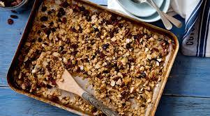 Egyszerű, fahéjas, illatos granola recept