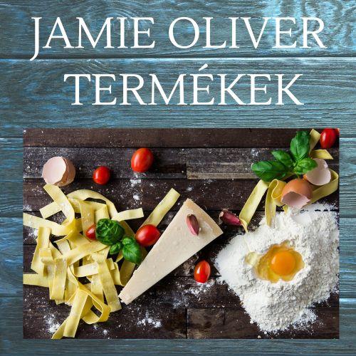 Jamie Oliver termékek, élelmiszer, konyhacucc