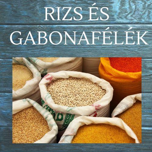 Rizs és gabonafélék webáruháza