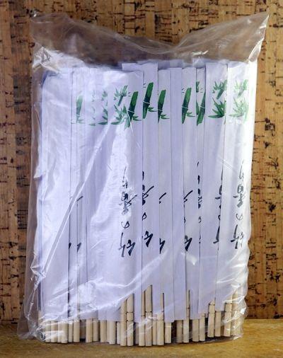 Eldobható bambusz evőpálcika, 100 pár