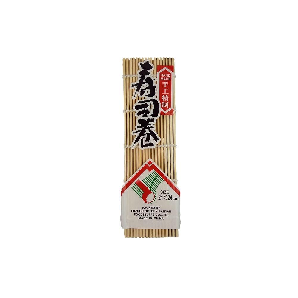Sushi tekerő bambuszgyékény 24*24 cm-es méretben