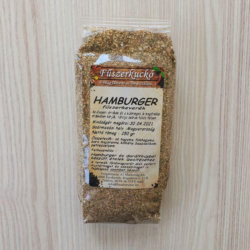 Hamburger fűszerkeverék, 250 gr