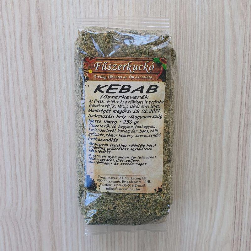 Kebab fűszerkeverék, 250 g