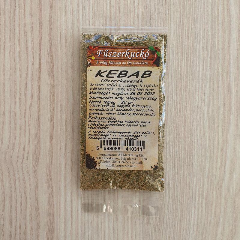 Kebab fűszerkeverék, 30 g