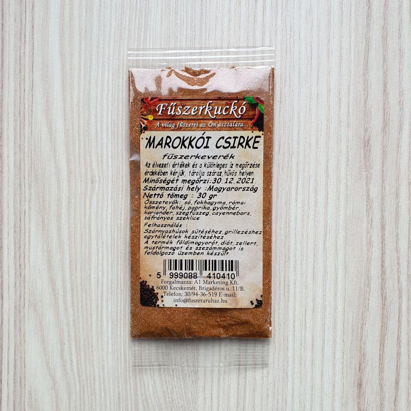 Marokkói csirke fűszerkeverék, 30 g