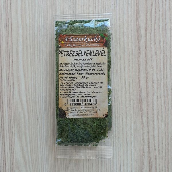 Petrezselyemlevél morzsolt, 30 g