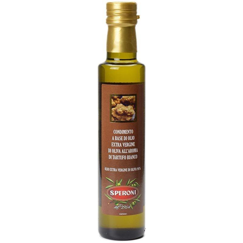 Fehér Szarvasgombás ízesítésű extra szűz olivaolaj, 250 ml