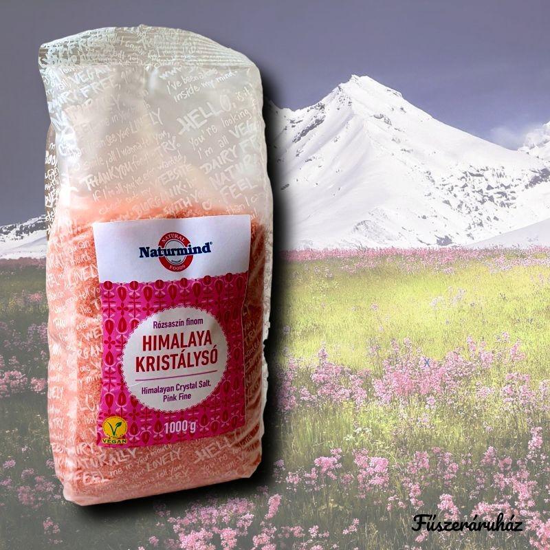 Himalaya kristálysó rózsaszín finomszemcsés 1 kg